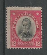 General Pinto 12c Rose Et Noir - Chile