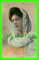 ARTISTE, ACTRICE MISS ETHEL BARRYMORE - TRAVEL IN 1908 - HOLMFIRTH - BAMFORTH & CI PUB. - - Artistes
