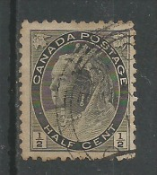 Victoria 1/2c Noir - Used Stamps