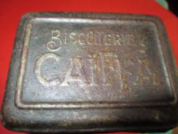 Grande Boite Métallique à Biscuits/Biscuiterie CAÏFFA/ Vers 1910-1920   BFPP40 - Boîtes