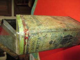 Grande Boite Métallique à Cacao/Cacao KWATTA/Solubilisé/ Vers 1920-1930       BFPP41 - Boxes