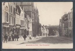 - CPA 80 - Montdidier, Rue Parmentier En 1914 - Montdidier