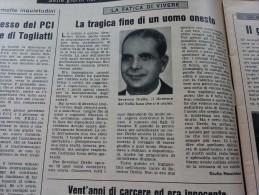 DOMENICA DEL CORRIERE 1966 RIVAROLO CANAVESE IMOLA SERIATE PALMA DI MONTECHIARO - Otros