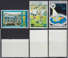 1252. Cameroon, 1978, Football World Cup In Argentina, MH (*) - Cameroon (1960-...)
