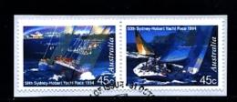 AUSTRALIA - 1994  SYDNEY-HOBART YACHT RACE  PAIR  FINE USED - Usati