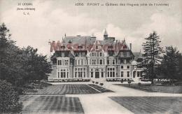 76 - YPORT  -  Château Des Hogues  - Dos Vierge - 2 Scans - Yport