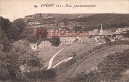 76 - YPORT  -  Vue Panoramique - 2 Scans - Yport