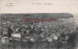 76 - YPORT  -  Vue Générale - Dos Vierge - 2 Scans - Yport