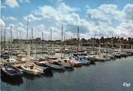 Saint Vaast La Hougue  - Le Nouveau Port De Plaisance - Circulé 1985 - Saint Vaast La Hougue