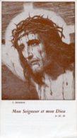 France - Santino MON SEIGNEUR ET MON DIEU (J. Janssens) - OTTIMO H77 - Religione & Esoterismo