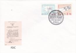 Estonia FDC: 1994 Europa CEPT (G69-40) - 1994