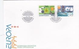 Finland FDC: 1994 Europa CEPT:   (G69-40) - 1994