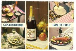 Cuisine - Gastronomie Bretonne  ( La Galette , Les Huitres , Le Cidre , Les Crepes , La Langouste (2 Scann) - Küchenrezepte