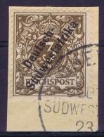 Germany: Südwestafrika Mi Nr 5  Used - Kolonie: Deutsch-Südwestafrika