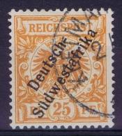 Germany: Südwestafrika Mi Nr 9 A Used , BPP Jäschke Signiert /signed/ Signé - Kolonie: Deutsch-Südwestafrika