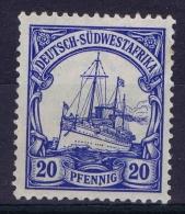 Germany: Südwestafrika Mi Nr 14  MH/* - Kolonie: Deutsch-Südwestafrika