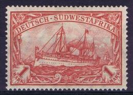 Germany: Südwestafrika Mi Nr 29 B   MNH/**   Signiert  Mansfeld - Kolonie: Deutsch-Südwestafrika