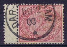 Deutsch Ostafrika : Vörlaufer VO 37 F, Bogenrand  RR - Colony: German East Africa