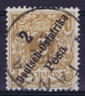 Deutsch Ostafrika : Mi Nr 6 B Used   Signiert Richter - Colony: German East Africa