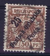 Deutsch Ostafrika : Mi Nr 10 Used - Colony: German East Africa