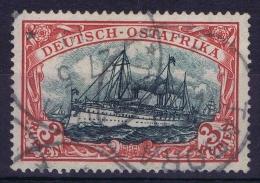 Deutsch Ostafrika : Mi Nr 21a Dunkelkarmin Signiert Dietrich  Used - Colony: German East Africa