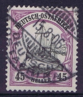 Deutsch Ostafrika : Mi Nr 28 B Rotviolett Used Signiert - Colony: German East Africa