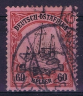 Deutsch Ostafrika : Mi Nr 37 Used Signiert  Has A Horz. Fold - Colony: German East Africa
