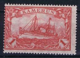Deutsch Kamerun :  Mi. Nr  24 II  MH/*   26 : 17 - Kolonie: Kamerun