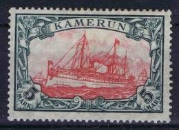 Deutsch Kamerun :  Mi. Nr  25 I B   MH/*   25 : 17 - Kolonie: Kamerun
