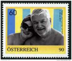ÖSTERREICH / PM Nr. 8109258 / 60. Geburtstag Hannes Fürntratt / 90 Cent / Postfrisch / MNH / ** - Personalisierte Briefmarken