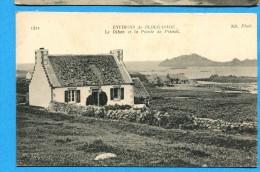 OV1.1035, Le Diben Et La Pointe De Primel, No1421 Circulée Sous Enveloppe 1918 - Plougasnou