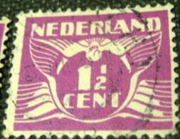 Netherlands 1926 Carrier Pigeon 1.5c - Used - 1891-1948 (Wilhelmine)