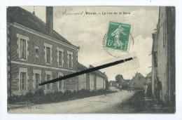 CPA - Blanzy - La Rue De La Gare - Autres Communes