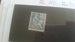 LOT 251457 TIMBRE DE FRANCE NEUF* N�118 VALEUR 160 EUROS