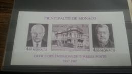 LOT 251523 TIMBRE DE MONACO NEUF** LUXE