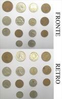 R Monete Coin Coins Blocco Varie 14 Monete - Monete