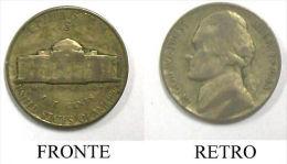 U Moneta Coin Coins USA 1943 S Monticello Five Cents - Stati Uniti