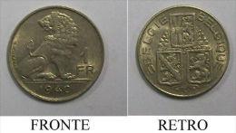 T Moneta Coin Coins Belgio 1940 1 Fr Belgique - 1934-1945: Leopold III