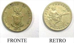 V Moneta Coin Coins Filipinas 1945 1 Moneta Filipinas - Stati Uniti