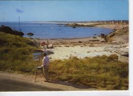 Trégunc.. La Pointe De Trévignon.. Animée.. Plage De Pen-Loch.. Artiste-Peintre - Trégunc