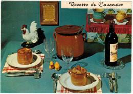 FRANCIA - France - Recette Du Cassoulet - 1980 - 1,10 F - Viaggiata Da Dax Per Montbéliard, France - Ricette Di Cucina