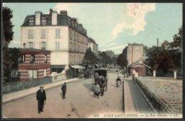 CPA L'Ile Saint Denis, La Rue Méchin - Saint Denis