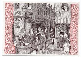 PARIS  2° --illustrateur Lawrence BOHME--Rue Saint Denis  ,cpsm 15 X 10 éd   L.Bohme-- - Arrondissement: 02