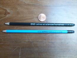 Crayon à Papier Lot De 2 Grandes Ecoles, Ecole Normale Supérieure De Lyon ENS - Other Collections