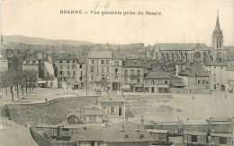 ROANNE - LA GARE & LE QUARTIER - TRAINS - Roanne