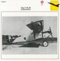 FIAT  CR  20        (NUOVO CON DESCRIZIONE E SCHEDA TECNICA)   2 SCAN - 1946-....: Moderne