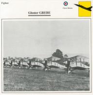 GLOSTER  GREBE       (NUOVO CON DESCRIZIONE E SCHEDA TECNICA)   2 SCAN - 1946-....: Moderne