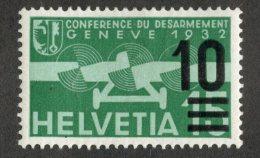 6223  Swiss 1935  Michel #286a  *  Cat. €.60 - Offers Welcome! - Luchtpostzegels