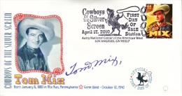U.S. FDC    COWBOYS  OF  THE  SILVER  SCREEN - 2001-2010