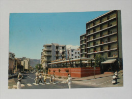 SAVONA - Loano - Via Aurelia - Hotel Continental - Vigile Urbano Dirige Il Traffico - Piaggio Vespa - 1965 - Savona